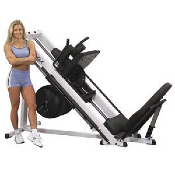 Home Exercise Equipment For Disabled: Body Solid 45 Degree Leg Press / Hack Squat Gym In Bondi